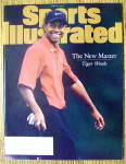 Sports Illustrated Magazine April 21, 1997 Tiger Woods