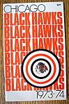 Chicago Blackhawks Yearbook 1973/1974