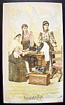 Roumania (Singer Trade Card) Three Women From Country