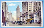 1933 Century Of Progress, Michigan Boulevard Postcard