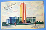1933 Century Of Progress, Owens Illinois Bldg Postcard