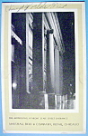 1933 Century Of Progress, Monoliths At Night Postcard