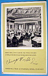 1933 Century Of Progress, Men's Grill Postcard