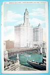 1933 Century Of Progress, Wrigley Building Postcard