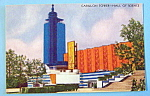 Carillon Tower (Hall Of Science) Postcard-chicago Fair