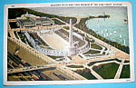 1933 Century Of Progress, Soldier Field Postcard