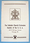 Catholic Church Brochure (1933 Century Of Progress)