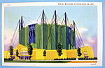Travel Building Postcard (1933 Century Of Progress)