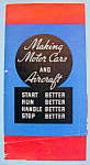 1933 Century Of Progress, Making Motor Cars Brochure