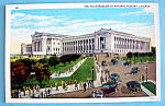 Postcard Of Field Museum (1933 Century Of Progress)