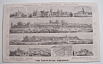 1876 Centennial Exhibition Trade Card - Philadelphia