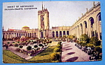 Court Of Abundance, Panama Pacific Exposition Postcard