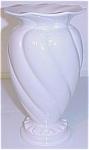"Franciscan Pottery Kaolena 7-3/4"" Swirl Vase"