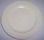 Franciscan Pottery El Patio Satin Ivory Lunch Plate
