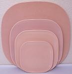 Franciscan Pottery Metropolitan Coral Bread Plate