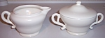 Franciscan Pottery El Patio Satin Ivory Creamer/sugar