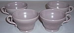 Franciscan Pottery El Patio Grey Set/4 Cups