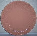 "Franciscan Pottery Coronado Coral 14"" Chop Plate"