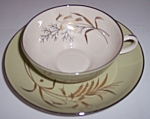 Franciscan Pottery Fine China Willow Bouquet Cup/saucer
