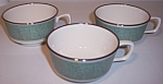Franciscan Pottery Fine China Nightingale Set/3 Cups