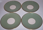 Franciscan Pottery Fine China Palomar Green Set/4 Sau