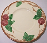 Franciscan Pottery Apple U.s.a. Bread Plate