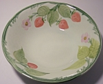 Franciscan Pottery Strawberry Time Cereal Bowl