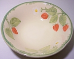 Franciscan Pottery Strawberry Fair Cereal Bowl
