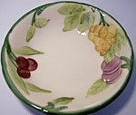 Franciscan Pottery Fresh Fruit Fruit Bowl