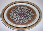 Franciscan Pottery Nut Tree Platter
