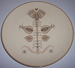 Franciscan Pottery Spice Dinner Plate