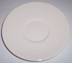 Franciscan Pottery El Patio Gloss White Saucer