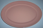 Franciscan Pottery El Patio Gloss Coral Large Platter