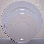 Franciscan Pottery Montecito Satin Grey Dessert Plate