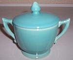 Franciscan Pottery Montecito Glacial Blue Ind Sugar/lid