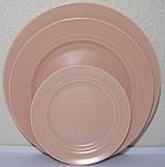 Franciscan Pottery Montecito Satin Coral Bread Plate