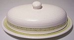 Franciscan Pottery Hacienda Green Butter Dish W/lid
