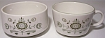 Franciscan Pottery Family China Heritage Sugar/cup Set