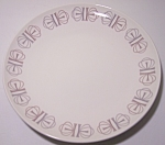 Franciscan Pottery Merry-go-round Bread Plate