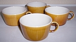 Franciscan Discovery China Topaz Set/4 Cups