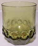 Franciscan Pottery Madeira Crystal Citron Double Glass