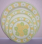 Franciscan Pottery Picnic Dinner Plate