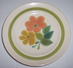 Franciscan Pottery Floral Bread Plate
