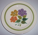 Franciscan Pottery Floral Salad Plate