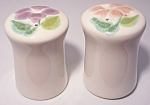 Franciscan Pottery Floral Salt/pepper Shaker Set