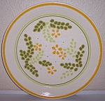 Franciscan Pottery Honey Dew Dinner Plate