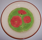 Franciscan Pottery Pepper Poppy Dinner Plate
