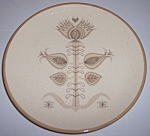 Franciscan Pottery Spice Salad Plate