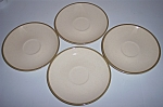 Franciscan Pottery Spice Set/4 Saucers