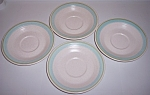 Franciscan Pottery Tulip Time Set/4 Saucers